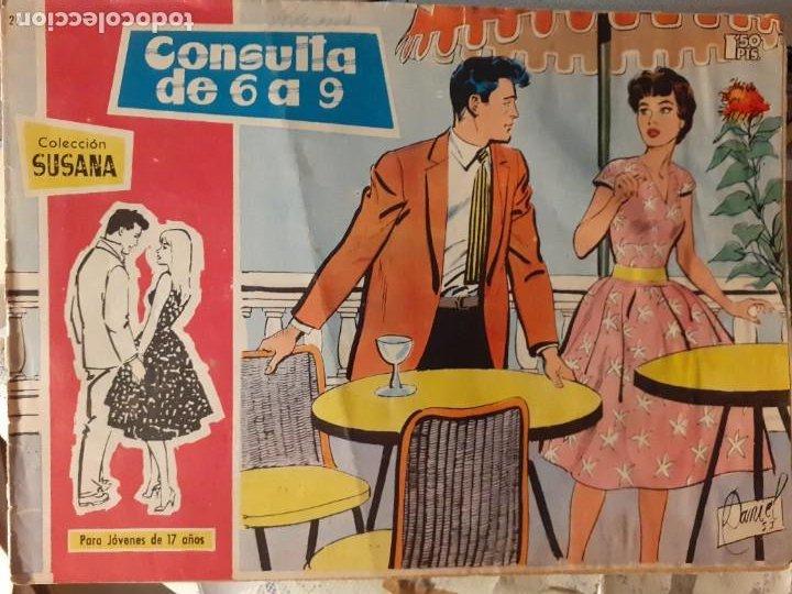 Tebeos: SUSANA-PARA JÓVENES DE 17 AÑOS- Nº 29 -CONSULTA DE 6 A 9-1960-EUGENIO SOTILLOS-CORRECTO-DIFÍCIL-3781 - Foto 2 - 210342722