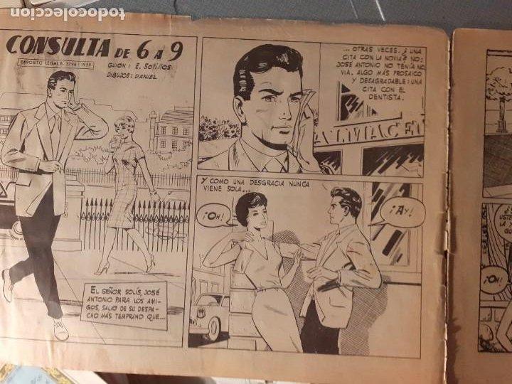 Tebeos: SUSANA-PARA JÓVENES DE 17 AÑOS- Nº 29 -CONSULTA DE 6 A 9-1960-EUGENIO SOTILLOS-CORRECTO-DIFÍCIL-3781 - Foto 5 - 210342722