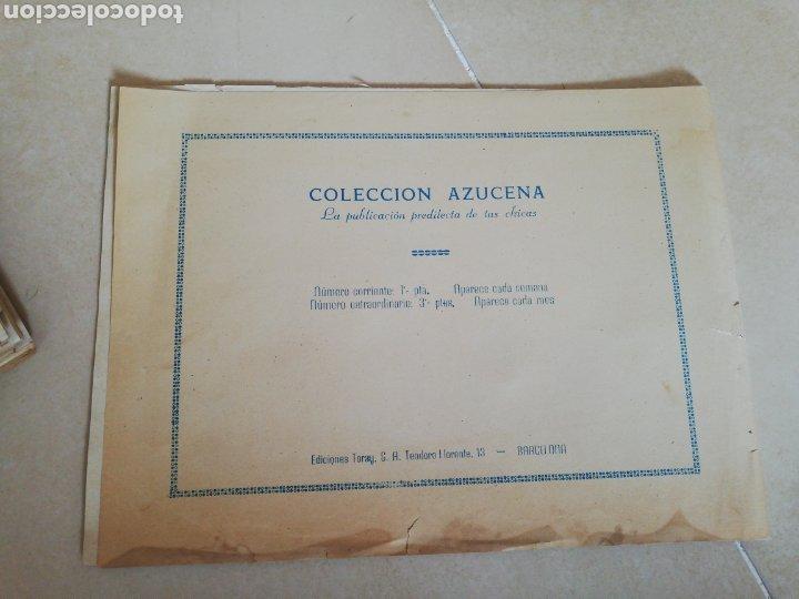 Tebeos: Colección azucena extraordinario N °4 la estrella del canal, la libélula negra y la princesa ciega - Foto 2 - 210383140