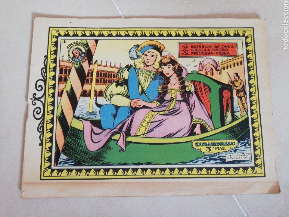 COLECCIÓN AZUCENA EXTRAORDINARIO N °4 LA ESTRELLA DEL CANAL, LA LIBÉLULA NEGRA Y LA PRINCESA CIEGA (Tebeos y Comics - Toray - Azucena)