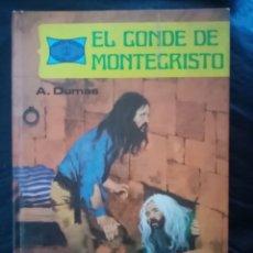 Tebeos: 1978 LIBRO EL CONDE DE MONTECRISTO. ALEJANDRO DUMAS. EDICIONES TORAY. NOVELAS FAMOSAS. PP 190. COMIC. Lote 210400195