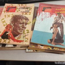 Tebeos: BRIGADA SECRETA / COMPLETA 8 NÚMEROS / TORAY 1982 - FORMATO TACO. Lote 210595305