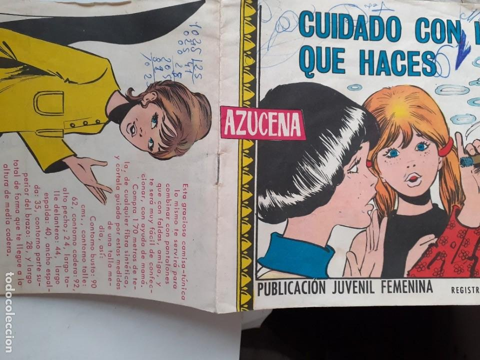 Tebeos: AZUCENA- Nº 1173 -CUIDADO CON LO QUE HACES-GRAN JOSEFINA-1970-MUY RARO-CORRECTO-3826 - Foto 2 - 210837771