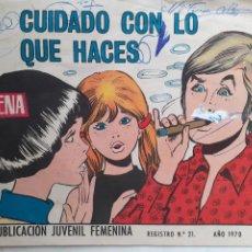 Tebeos: AZUCENA- Nº 1173 -CUIDADO CON LO QUE HACES-GRAN JOSEFINA-1970-MUY RARO-CORRECTO-3826. Lote 210837771