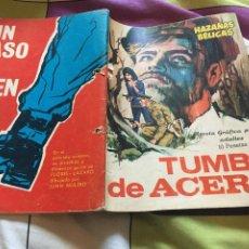Tebeos: HAZAÑAS BÉLICAS Nº 149 TUMBA DE ACERO - TORAY. Lote 210957701