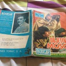 Tebeos: BOIXCAR Nº 80 OBJETIVO MOSCU - OBRAS COMPLETAS -EDICIONES TORAY. Lote 211273829