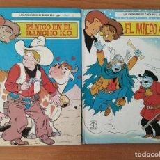 Tebeos: CHICK BILL. EL MIEDO AZUL. PÁNICO EN EL RANCHO KO. TIBET. EDICIONES TORAY. DOS TEBEOS.. Lote 211527494