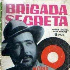 Tebeos: BRIGADA SECRETA-TORAY- Nº 63 -MORIR CUESTA VEINTICINCO CENTAVOS-1964-JESÚS DURÁN-BUENO-DIFÍCIL-3838. Lote 211650894