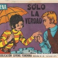 Tebeos: AZUCENA- Nº 1192 -SÓLO LA VERDAD-1971-GRAN NIEVES FRANCESCH-BUENO-MUY DIFÍCIL-LEAN-3852. Lote 211780648
