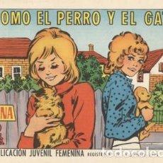 Tebeos: AZUCENA- Nº 1211 -COMO EL PERRO Y EL GATO-1971-GRAN NIEVES CATALÁ-BUENO-MUY DIFÍCIL-LEAN-3853. Lote 211780931