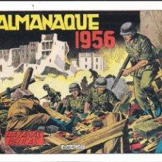 Tebeos: HAZAÑAS BELICAS ALMANAQUE 1956. FACSIMIL. Lote 211990865