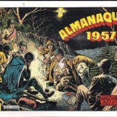 Tebeos: HAZAÑAS BELICAS ALMANAQUE 1957. FACSIMIL. Lote 211990918