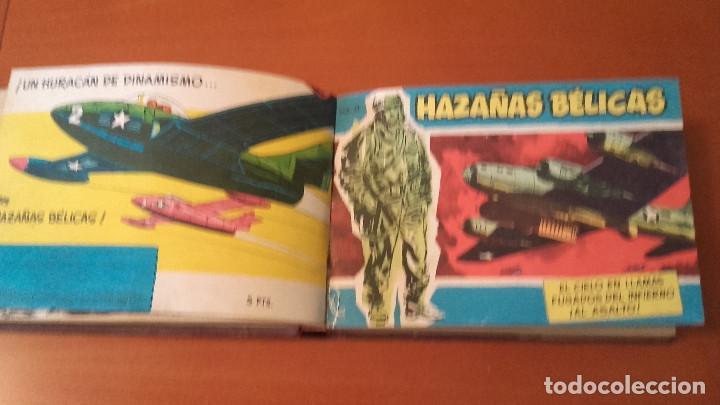HAZAÑAS BÉLICAS EXTRA AZUL EDICIONES TORAY LOTE 4 TOMOS ENCUADERNADOS (Tebeos y Comics - Toray - Hazañas Bélicas)