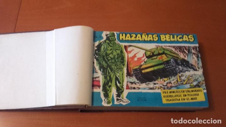 Tebeos: HAZAÑAS BÉLICAS Extra azul EDICIONES TORAY Lote 4 tomos encuadernados - Foto 7 - 212057681