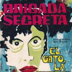 Tebeos: BRIGADA SECRETA: NUMERO 36 EL GATO, LA MUERTE Y EL PARAGUAS , EDITORIAL TORAY. Lote 212178705