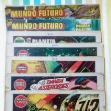 BDs: EL MUNDO FUTURO Nº 19, 49, 50, 52, 55, 60, 63 Y 75 TORAY ORIGINAL ILUSTRA BOIXCAR. Lote 212117291