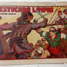 Tebeos: EL CAPITÁN CORAJE Nº 20 ORIGINAL 1946 FORMATO 32 X 22 CMS. EDI. TORAY. Lote 212310847