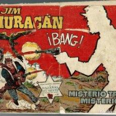 Tebeos: JIM HURACAN Nº 19 - MISTERIO TRAS MISTERIO - TORAY 1959. Lote 212525061