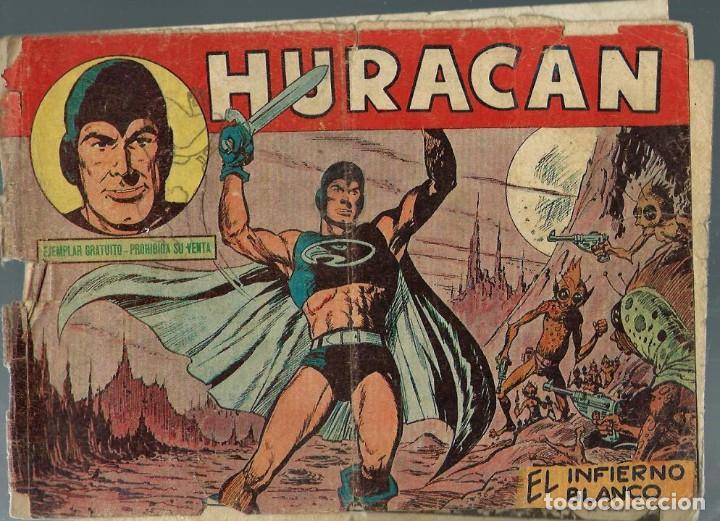 HURACAN Nº 1 - EL INFIERNO BLANCO - MAGA (Tebeos y Comics - Toray - Hazañas del Oeste)