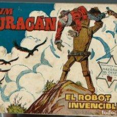 Tebeos: JIM HURACAN Nº 28 - EL ROBOT INVENCIBLE - TORAY 1959. Lote 212526435