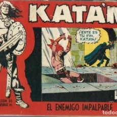 Tebeos: KATAN Nº 13 - EL ENEMIGO IMPALPABLE - TORAY 1958 - ORIGINAL. Lote 212527050
