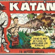 Tebeos: KATAN Nº 25- LA MUERTE HIRSUTA - TORAY 1958 - ORIGINAL. Lote 212527153