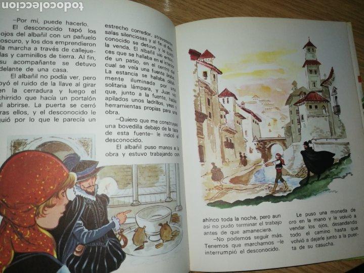 Tebeos: CUENTOS DE LA ALHAMBRA, ILUSTRACIONES MARIA PASCUAL, SEGUNDA EDICIÓN. - Foto 5 - 212570222