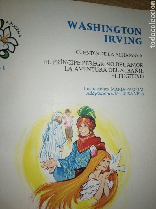 Tebeos: CUENTOS DE LA ALHAMBRA, ILUSTRACIONES MARIA PASCUAL, SEGUNDA EDICIÓN. - Foto 7 - 212570222