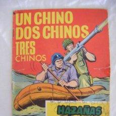 Tebeos: JML TORAY HAZAÑAS BELICAS UN CHINO DOS CHINOS TRES CHINOS Nº 229 AÑO 1967 5 PESETAS. Lote 212599523