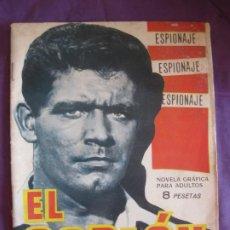 Tebeos: ESPIONAJE Nº 22. EL SOPLON. EDICIONES TORAY 1966.. Lote 212709733
