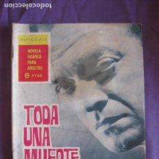 Tebeos: ESPIONAJE Nº 9. TODA UNA MUERTE PARA NADA. EDICIONES TORAY 1965.. Lote 212709836
