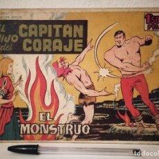 BDs: COLECCION 26 CAPITULOS ENCUADERNADOS - EL HIJO DEL CAPITAN CORAJE - COMIC - TORAY 1958. Lote 212879735