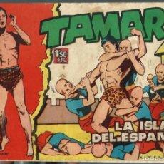 Tebeos: TAMAR Nº 13 - LA ISLA DEL ESPANTO - TORAY 1961 - ORIGINAL. Lote 212886172
