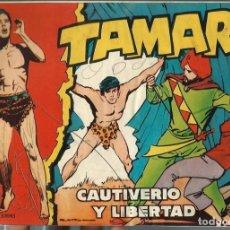Tebeos: TAMAR Nº 72 - CAUTIVERIO Y LIBERTAD - TORAY 1961 - ORIGINAL. Lote 212886261