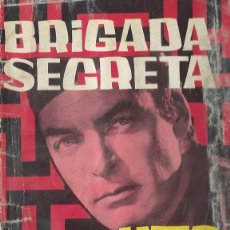 Tebeos: BRIGADA SECRETA Nº 10 - LABERINTO - TORAY 1963. Lote 212887225