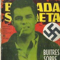 Tebeos: BRIGADA SECRETA Nº 37 - BUITRES SOBRE EL LAGO TOPLITZ - TORAY 1964. Lote 212887298
