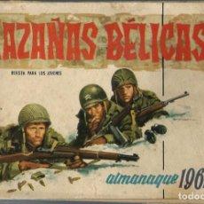 Tebeos: HAZAÑAS BELICAS - ALMANAQUE 1961 - TORAY 1960 - ORIGINAL. Lote 212889851