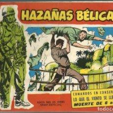 Tebeos: HAZAÑAS BELICAS SERIE ROJA NUMERO EXTRA 59 - - TORAY - ORIGINAL - BIEN. Lote 212890120