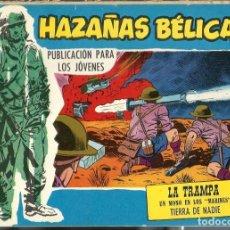 Tebeos: HAZAÑAS BELICAS SERIE AZUL NUMERO EXTRA 284 - TORAY AÑOS 60 - ORIGINAL - BIEN - DIFICIL. Lote 212891998
