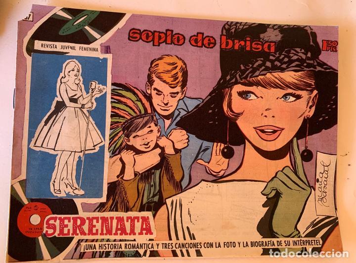 Tebeos: REVISTA JUVENIL FEMENINA . SERENATA . TORAY , BARCELONA . 20 NUMEROS . COMIC ORIGINAL . - Foto 3 - 212953748