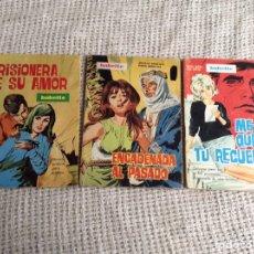 Giornalini: NOVELAS GRAFICAS GENERO ROMANTICO, COLECCION BABETTE , LOTE DE 3 EJEMPLARES -EDITADAS : AÑOS 70. Lote 213004556