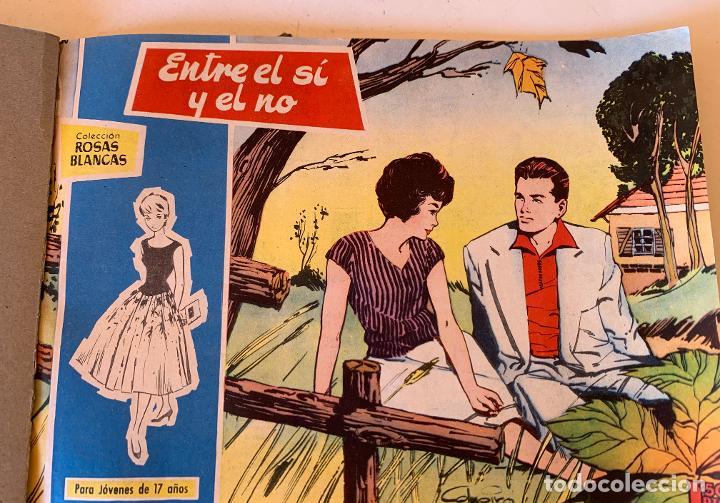 Tebeos: ROSAS BLANCAS . PARA JOVENES DE 17 AÑOS .. TORAY , BARCELONA . COMIC ORIGINAL . 14 NUMEROS . - Foto 2 - 213041581