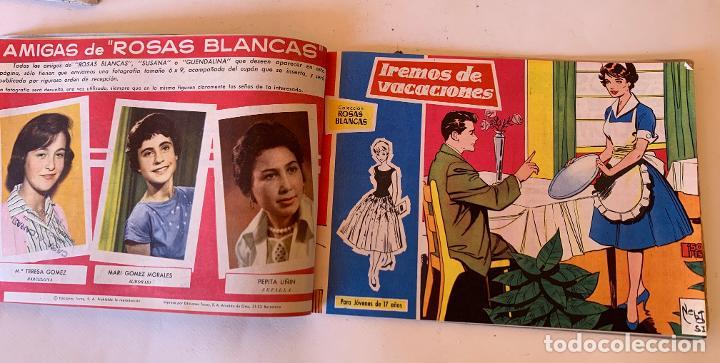 Tebeos: ROSAS BLANCAS . PARA JOVENES DE 17 AÑOS .. TORAY , BARCELONA . COMIC ORIGINAL . 14 NUMEROS . - Foto 3 - 213041581