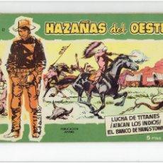 Tebeos: * HAZAÑAS DEL OESTE Nº 12 TORAY 1959 * EXCELENTE *. Lote 213156828