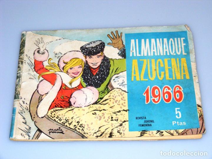 Tebeos: AZUCENA - TORAY - ALMANAQUE 1966 + NÚMEROS, 293 - 845 - 830 - VER FOTOS. - Foto 2 - 213216480