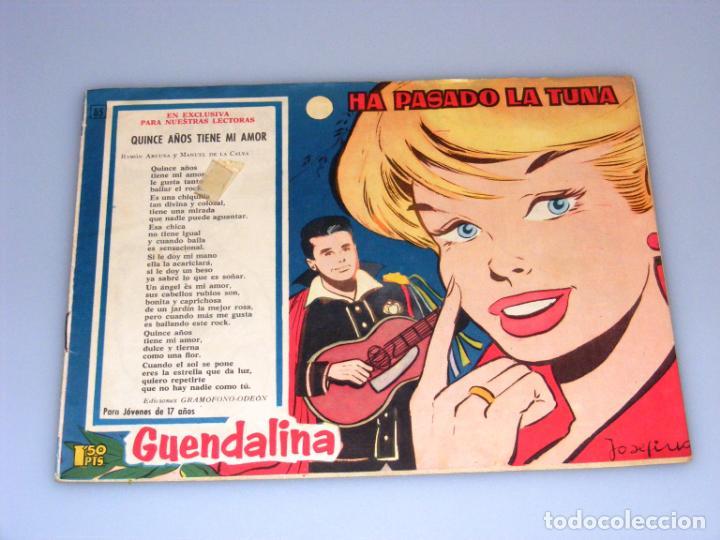 Tebeos: GUENDALINA - TORAY - 6 REVISTAS - NÚMEROS, 85 - 107 - 111 - 118 - 119 - 142 - VER FOTOS. - Foto 4 - 213218425