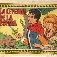 BDs: AZUCENA REVISTA JUVENIL FEMENINA - Nº 872 - LA LEYENDA DE LA ESPADA. Lote 213221337