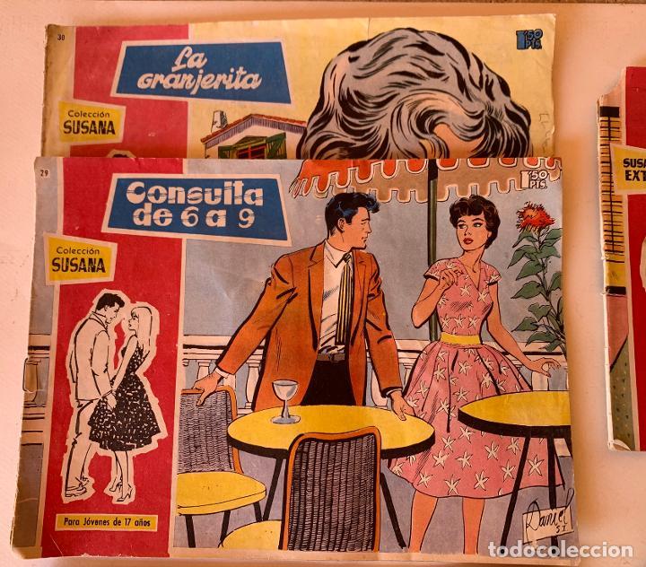 Tebeos: PARA JOVENES DE 17 AÑOS . COLECCION SUSANA . TORAY , BARCELONA . 5 NUMEROS . - Foto 2 - 213332182