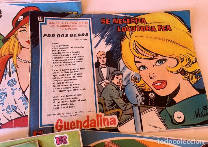 Tebeos: PARA JOVENES DE 17 AÑOS . GUENDALINA . TORAY BARCELONA . COMIC ORIGINAL . 9 NUMEROS . - Foto 2 - 213332776