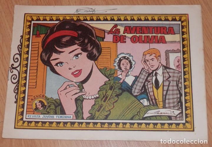 ANTIGUA REVISTA JUVENIL FEMENINA AZUCENA - TORAY (Tebeos y Comics - Toray - Azucena)
